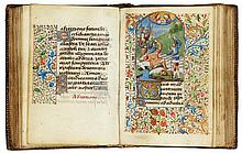 BOOK OF HOURS, USE OF SAINTES, IN LATIN [FRANCE (PARIS), C.1470-80] |