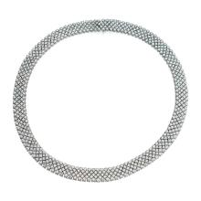 18 KARAT WHITE GOLD AND DIAMOND NECKLACE