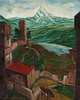 Lado Davidovich Gudiashvili, 1896-1980