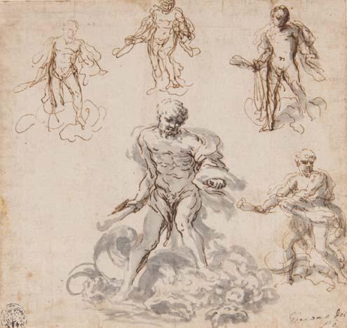 GIACOMO DEL PO, ROME 1652 - 1726 NAPLES