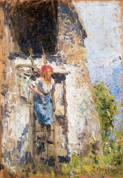LEONARDO BAZZARO (MILANO 1853 - 1937)