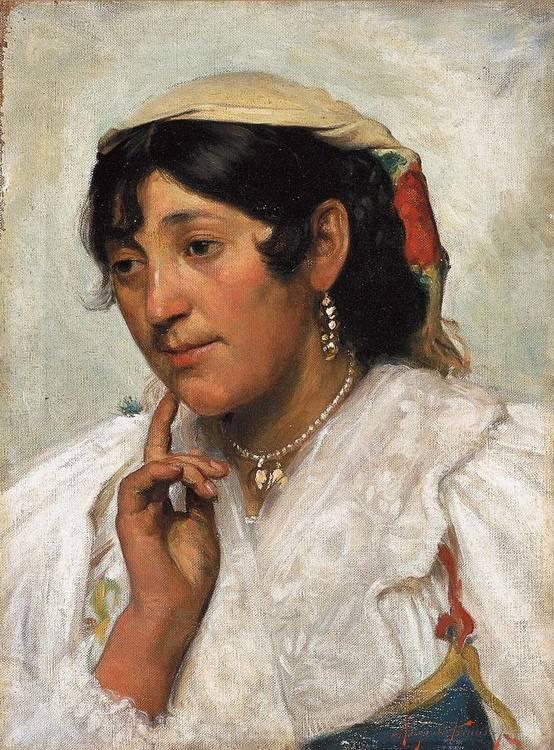 ANGIOLO TOMMASI (LIVORNO 1858 - TORRE DEL LAGO 1923)