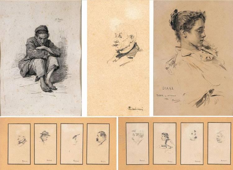 ANTONIO PICCINNI (TRANI 1846 - ROMA 1920)