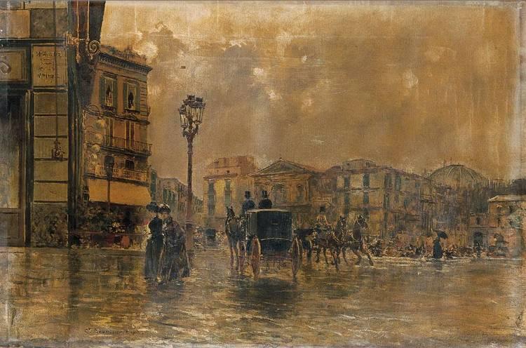 CARLO BRANCACCIO (NAPOLI 1861 - 1920)