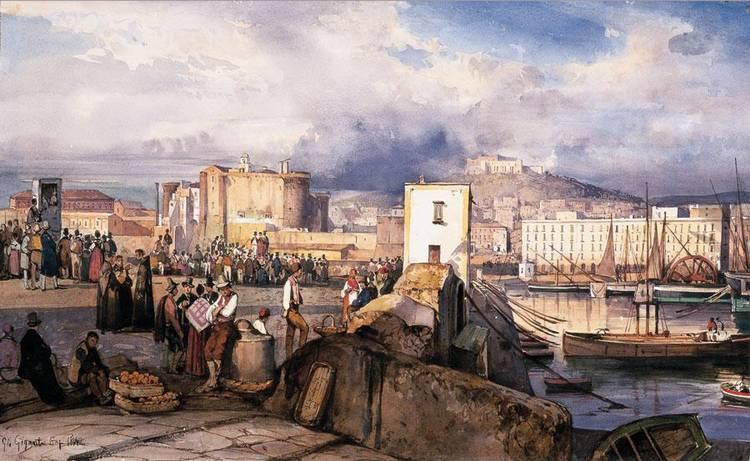 GIACINTO GIGANTE (NAPOLI 1806 - 1876)