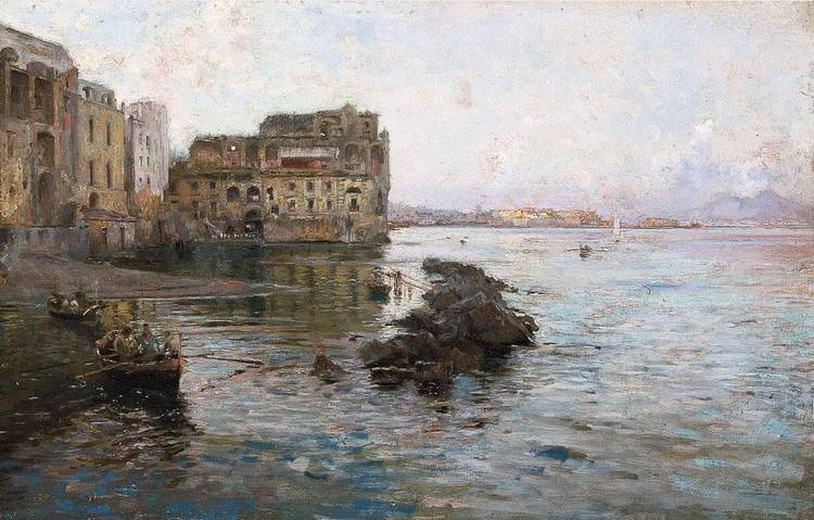 GAETANO ESPOSITO (SALERNO 1858 - SALA CONSILINA 1911)