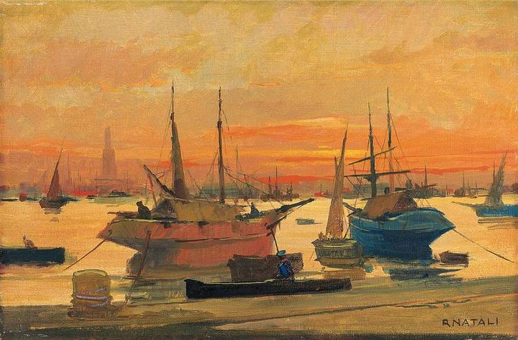 RENATO NATALI (LIVORNO 1883 - 1979)