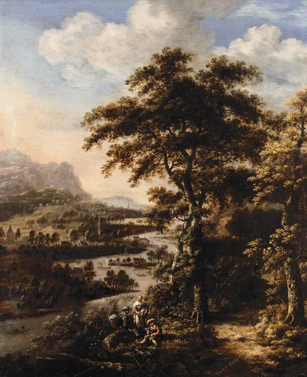 f - DIONIJS VERBURGH ROTTERDAM CIRCA 1655 - 1722