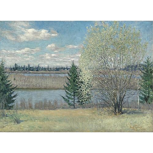 Igor Grabar, 1871-1960 , spring landscape