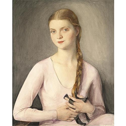 Savely Abramovich Sorine, 1878-1953 , Portrait of Marina Chaliapina