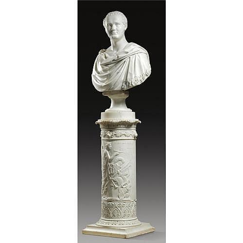 w - Lorenzo Bartolini Italian, 1777-1850 , A bust of Tsar Alexander I