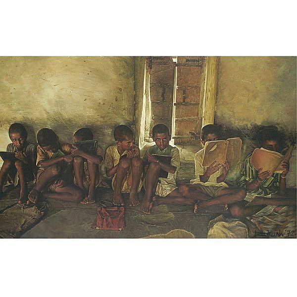 Bikash Bhattacharjee Works on Sale at Auction & Biography ...