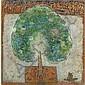 Kattingeri Krishna Hebbar (1911 - 1996) , Wish Fulfilling Tree Oil on canvas   , Kattingeri Hebbar, Click for value