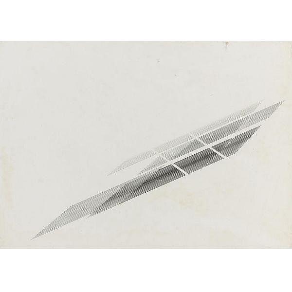 Nasreen Mohamedi (1937 - 1990) , Untitled Pen and ink on paper
