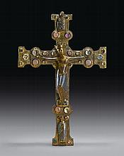 FRENCH, LIMOGES, SECOND HALF 13TH CENTURY | Processional Cross