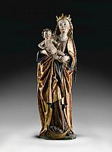 SOUTHERN GERMAN, PROBABLY NUREMBERG, CIRCA 1480-1500 | Virgin and Child