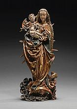 AUSTRIAN, VILLACH, CIRCA 1515 | Virgin and Child in an Aureole