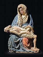 AUSTRIAN OR BOHEMIAN, CIRCA 1420-40 | Pietà