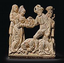 SOUTHERN GERMAN OR AUSTRIAN, EARLY 16TH CENTURY | Relief with the Beheading of Saint John