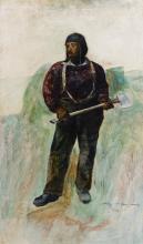 ANDREW WYETH | Woodchopper Study