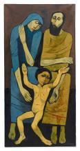 OSWALDO GUAYASAMÍN (1919-1999) | Holy Family