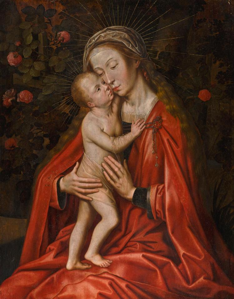 an overview of the subject of madonna and child in the sixteenth century