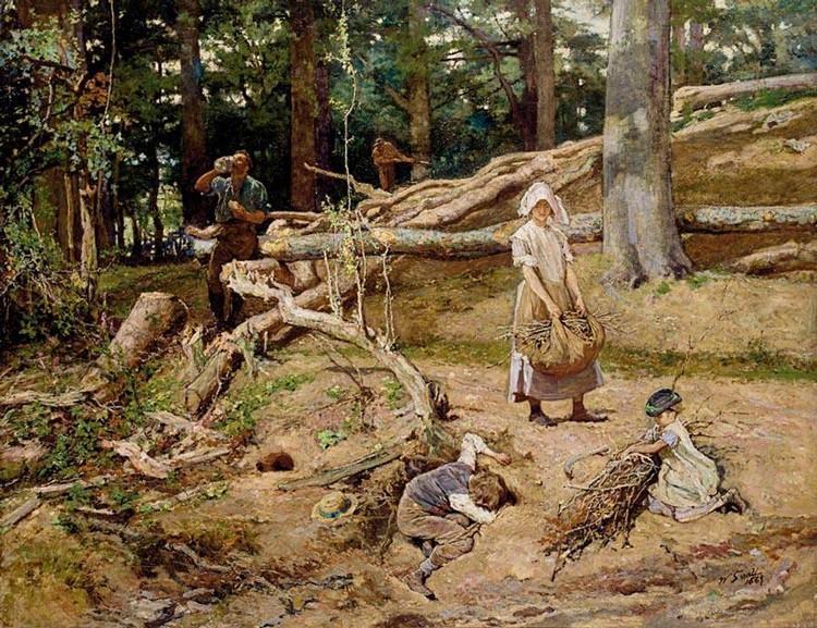 WILLIAM SMALL 1843-1929 THE WOODLANDS