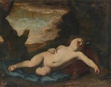 MASSIMO STANZIONE | Sleeping Christ Child in a landscape