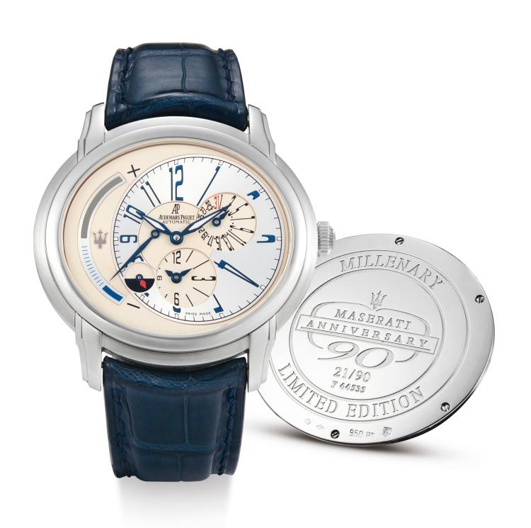Day Timer Platinum: A LIMITED EDITION PLATINUM OVAL AUTOMATIC