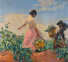 JOSÉ MONGRELL | La Vendimia (The Grape Harvest)