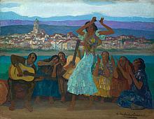 HERMENEGILDO ANGLADA-CAMARASA | Baile Gitano (The Gypsy Dance)