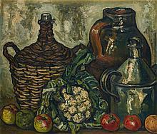 JOSÉ GUTIÉRREZ SOLANA | Bodegón de la coliflor (Still Life with Cauliflower)