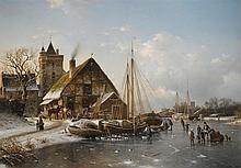 JOHANNES DUNTZE | Winter on the Rhine