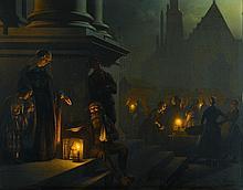 PETRUS VAN SCHENDEL | Charity in the Night Market