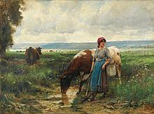 JULIEN DUPRÉ | La gardeuse de vaches