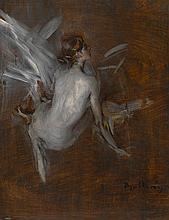 GIOVANNI BOLDINI | Nude Model (recto);<br />Caleche(verso): A double-sided Work