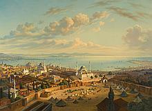 HUBERT SATTLER | Constantinople from the Fire Tower of Beyazit