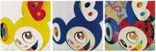 TAKASHI MURAKAMI | And Then, and then and then and then and then / Yellow Jelly; Original Blue; Gargle Glop (3 Prints)