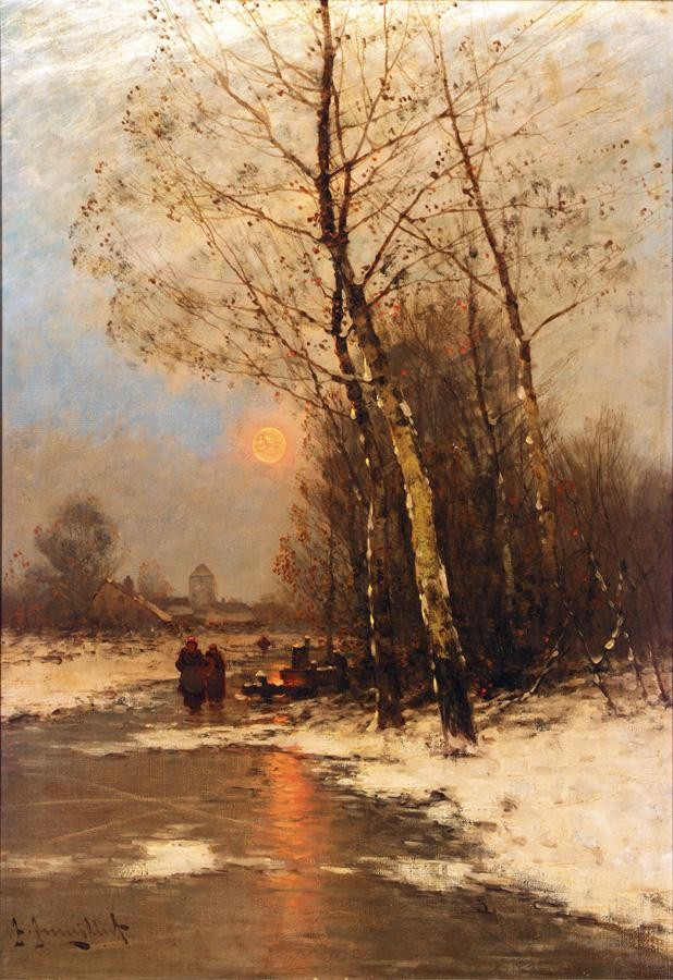 JOHANN (JAN VAN STRATEN) JUNGBLUT, GERMAN 1860-1912