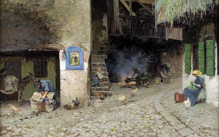 RAFFAELE TAFURI, ITALIAN 1857-1929
