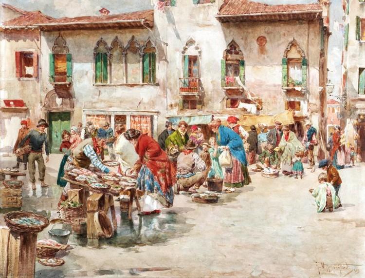 GIUSEPPE VIZZOTTO ALBERTI, ITALIAN 1862-1931
