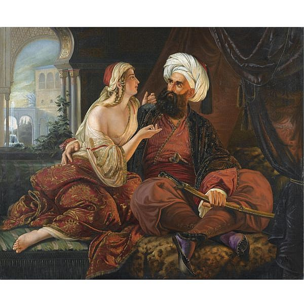 School of Paul Emil Jacobs , German 1802-1866 