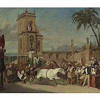 ATTRIBUTED TO JOHANN MORITZ RUGENDAS(1802-1858)