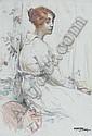 HILDA RIX NICHOLAS 1884-1961, Hilda Rick Nicholas, Click for value