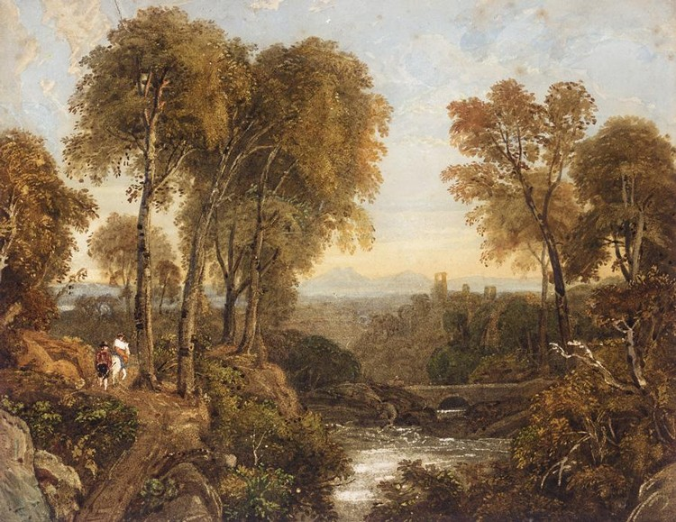 GEORGE BARRET JNR, 1767-1842
