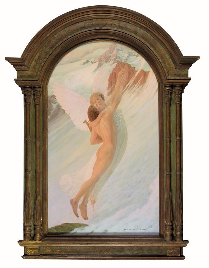 f,w - CARLOS SCHWABE, SWISS 1866-1926