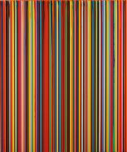 IAN DAVENPORT | Poured Lines: Permanent Orange
