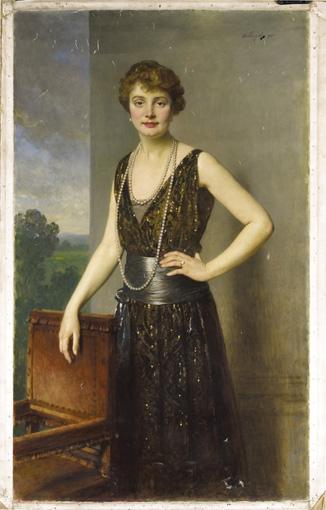HEINRICH VON ANGELI (SOPRON 1840-? 1925) PORTRAIT DE FEMME