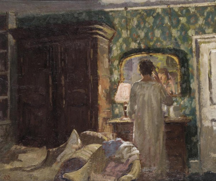 BERNARD DUNSTAN, B. 1920 THE BEDROOM
