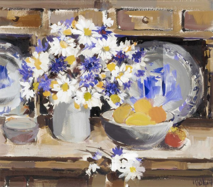 ETHEL WALKER, B. 1941 STILL LIFE ON A DRESSER